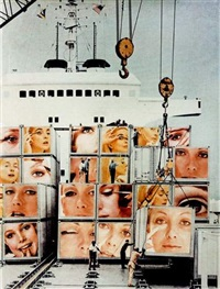 untitled-cargo cult (from body beautiful-a.k.a. beauty knows no pain) by martha rosler