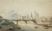 the moscow kremlin by vasili fedorovich (george wilhelm) timm