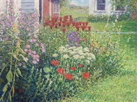 a vermont garden by wally ames