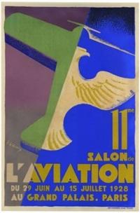 11ème salon de l'aviation du 29 juin au 15 juillet, grand palais, paris by roger de valerio