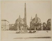 rome: vues de la ville et reproductions d'oeuvres (album w/100 works) by fratelli alinari