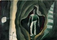 ohne titel (höhlenmensch) by thomas lange