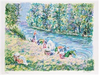 impressionist landscapes (8 works) by lélia pissarro