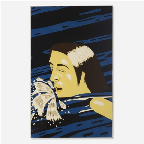 olympic swimmer by alex katz