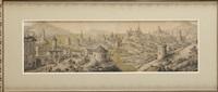 vue d'une ville portuaire imaginaire by pierre-jacob gerould du pas