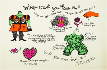 Why Dont You Love Me Von Niki De Saint Phalle Auf Artnet