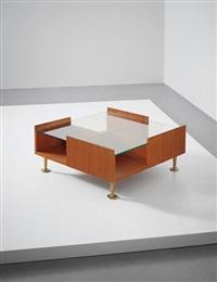 unique coffee table, designed for a villa, liguria by gio ponti