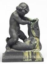 pojke med fisk (fontän) by alfred ohlson