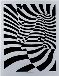 cebras by victor vasarely