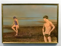 figures on a beach by robert r. bliss