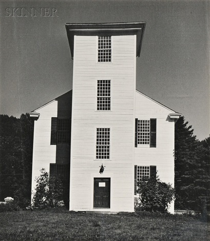 birmingham, ala. boarding house, kentucky, two outhouses and old church (4 works) by walker evans