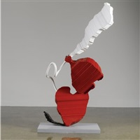 valentine perfume by coosje van bruggen and claes oldenburg