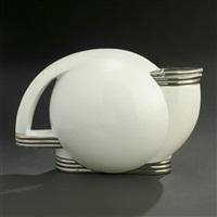 lidded teapot by paul schreckengost