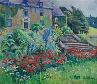 jardin fleuri by mathilde du monceau de bergendae