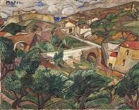 village provençal by maria-mela muter