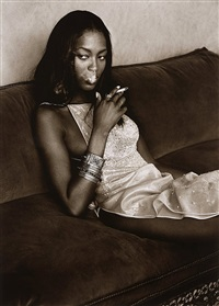 naomi campbell, marrakech, 1998 by albert watson