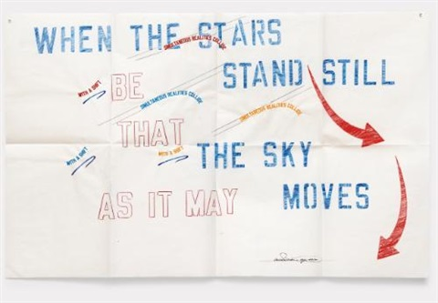 simultaneous realities by lawrence weiner