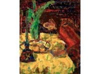at the table by rafael wardi