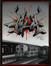 wish4 subway train by ces