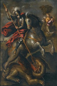 st. george and the dragon by jacopo robusti tintoretto