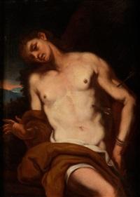 heiliger sebastian (or painted by daniel seider) by johann karl loth