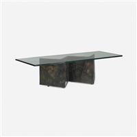 coffee table, model pe-11 by paul evans
