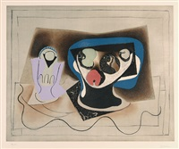 after. le verre d'absinthe by pablo picasso
