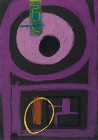 das große violett by max ackermann