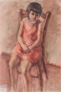 la jeune fille by simon simon-auguste