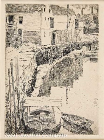 cos cob by childe hassam