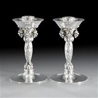 candlesticks by georg jensen (co.)