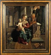la sainte famille by flemish school (16)