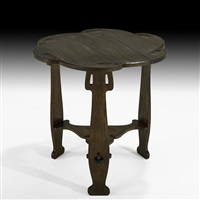 occasional table by charles rohlfs