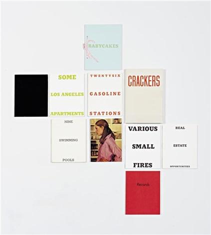 artist's books (10 works) by ed ruscha