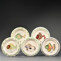 fish plates 95 works) by fernand léger