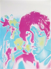 set of four limited edition beatles posters by richard avedon