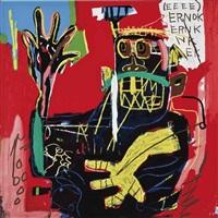 untitled (ernok) by jean-michel basquiat
