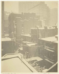 from the back-window, - '291', 1915 by alfred stieglitz