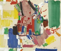colligation no. 2 by hans hofmann