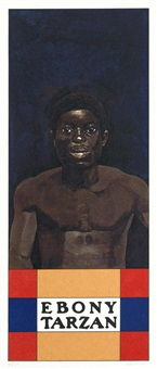 ebony tarzan (from the wrestlers suite) by peter blake