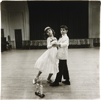 the junior interstate ballroom dance champions, yonkers, n.y by diane arbus