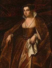 portrait de la dogaresse morosina morisini by domenico tintoretto