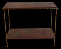 side table by victor bagues