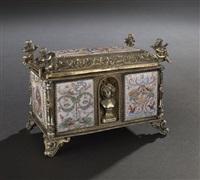 table box by (pier giacomo ilario bonacolsi) antico