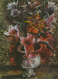 summer flower in an urn by sir francis cyril rose