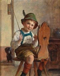 der kleine reiter by edmund adler