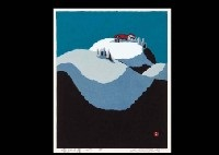 hut at the peak (+ mountain hut; 2 works) by umetaro azechi