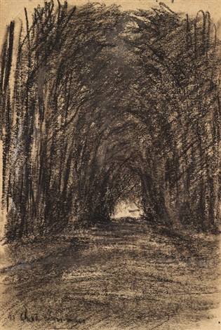 waldweg by max liebermann