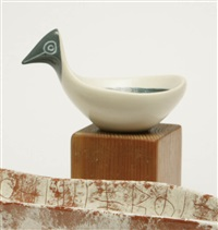 bird-head bowl by jerome ackerman