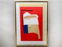 america la france, variations 1 by robert motherwell